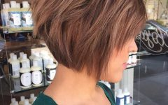 A Very Short Layered Bob Hairstyles