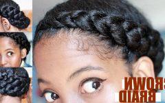 Black Crown Braid Hairstyles