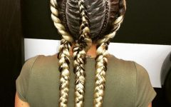 Blonde Asymmetrical Pigtails Braid Hairstyles
