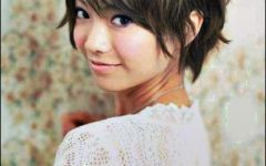 Boyish Shag Asian Hairstyles