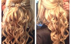 Bumped Hairdo Bridal Hairstyles for Medium Hair