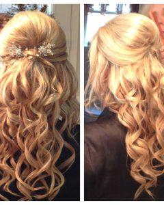 Bumped Hairdo Bridal Hairstyles For Medium Hair