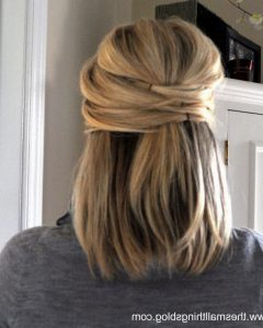Easy Wedding Hairstyles For Shoulder Length Hair