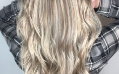 Feathered Ash Blonde Hairstyles