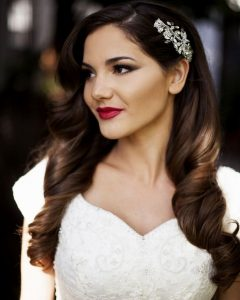 One Side Up Wedding Hairstyles