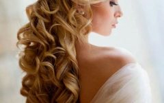 Ringlets Wedding Hairstyles
