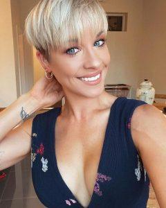 Undercut Pixie Hairstyles with Hair Tattoo