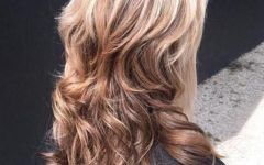 Waterfall Of Curls Shag Long Hairstyles