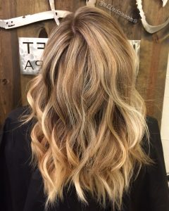 Wheat Blonde Hairstyles