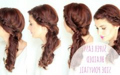 Braided Hairstyles to the Side