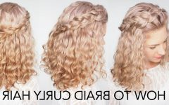 Braids with Curls Hairstyles