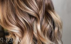 Brown And Blonde Feathers Hairstyles