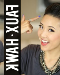 Fauxhawk Ponytail Hairstyles
