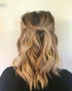 Mid-Length Beach Waves Hairstyles