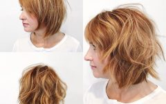 Razor Bob Haircuts With Highlights