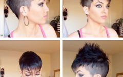 Pixie Faux Hawk Haircuts