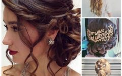 Medium Hairstyles for Evening Wear
