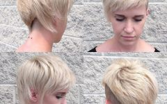 Textured Undercut Pixie Hairstyles