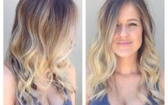 Blonde Ombre Waves Hairstyles