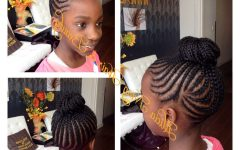 Youthful Fulani Crown with Horizontal Braids